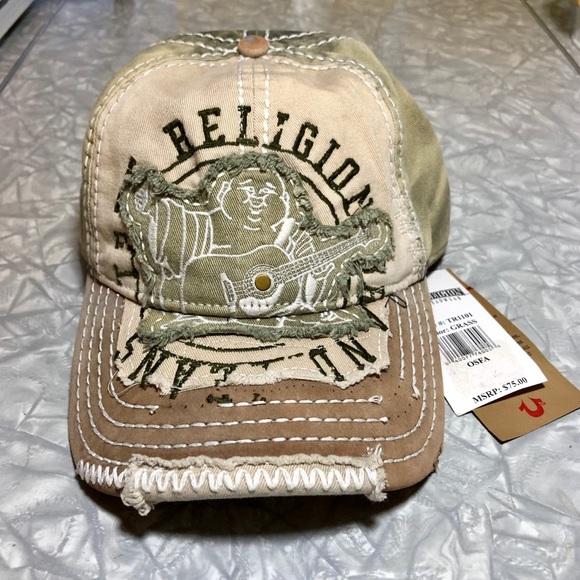 8e848e17 True Religion Accessories   Nwt World Tour Mens Ball Cap   Poshmark